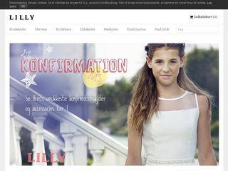 lilly konfirmationskjoler 2016